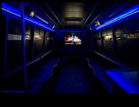Interior Party bus